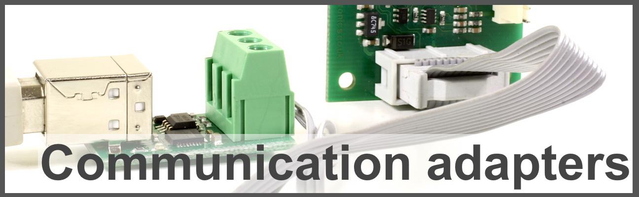 Communication adapters