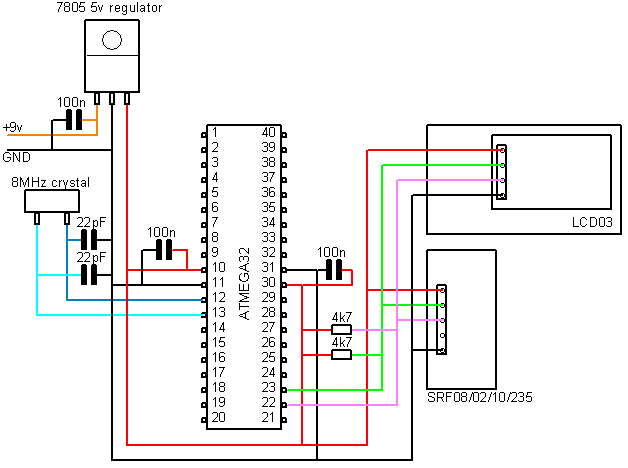 how to connect the atmega328p mcu ic to usb