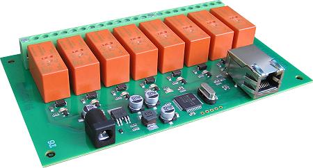 Ethernet Relay Card